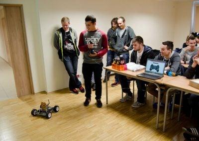 Zajęcia na Politechnice Łódzkiej
